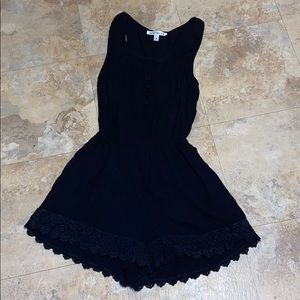 Abercrombie shorts romper small